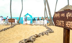 Sirenis Cocotal Beach Resort Casino & Aquagames Wedding Venue