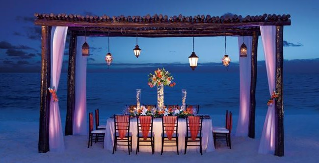 Secrets Capri Riviera Cancun  Wedding Venue