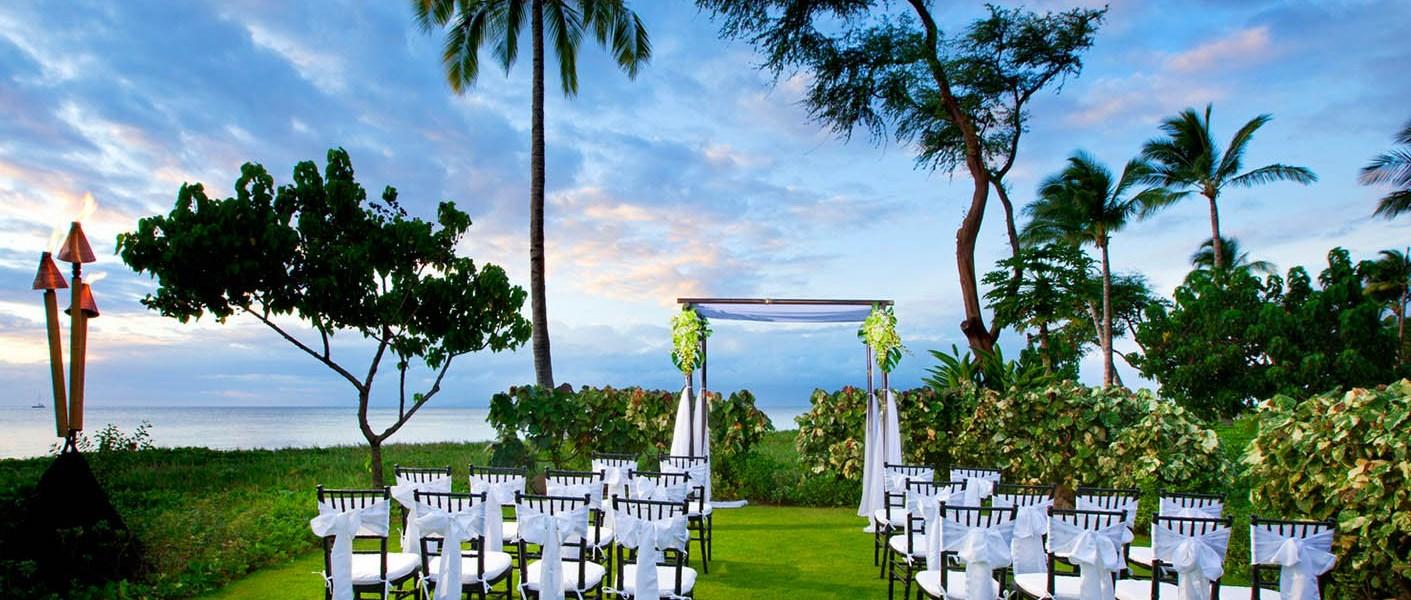 The Westin Kaanapali Ocean Resort Villas Wedding Venue