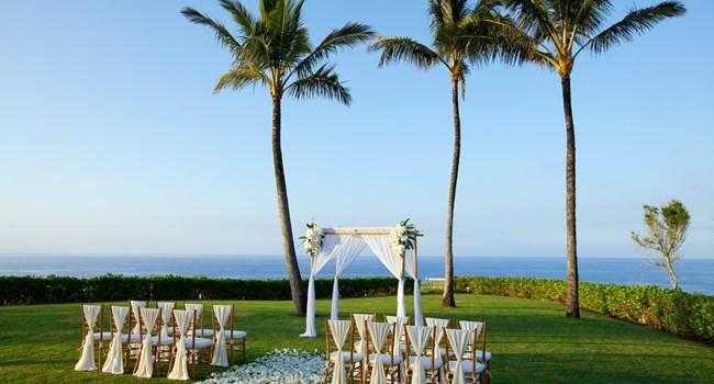 Westin Princeville Ocean Resort Villas Wedding Venue