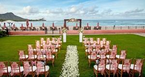 The Royal Hawaiian, a Luxury Collection Resort Wedding Venue