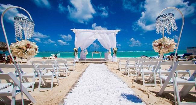 Luxury Bahia Principe Ambar Blue Don Pablo Collection Wedding Venue