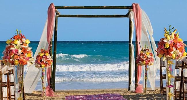 Now Jade Riviera Cancun Wedding Venue