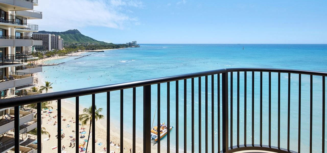 Outrigger Waikiki Beach Resort Wedding Venue